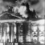 The Reichstag on fire, 27 February 1933. Source: Imago.