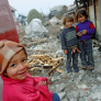 Roma children in Romania