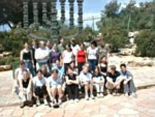 Die Reisegruppe in Israel